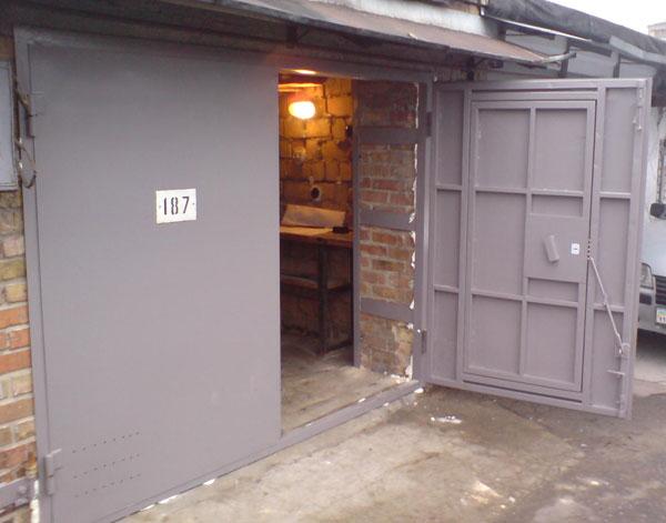 Дверь для гаража своими руками
